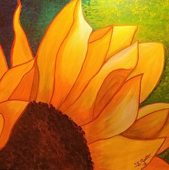 Sunflower by Tina Mostov