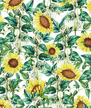 Sunflower Valley by Uma Gokhale