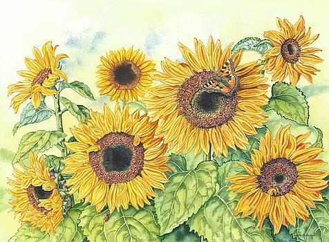 Sunflowers 2 by Lynne Henderson