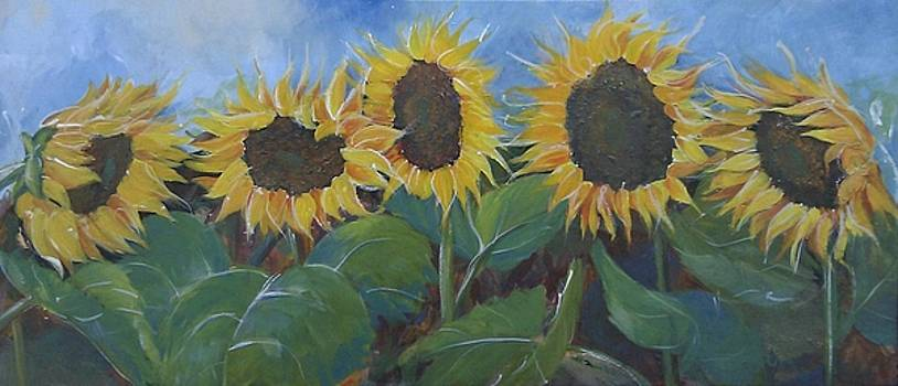 Sunflowers by Shirley Lennon