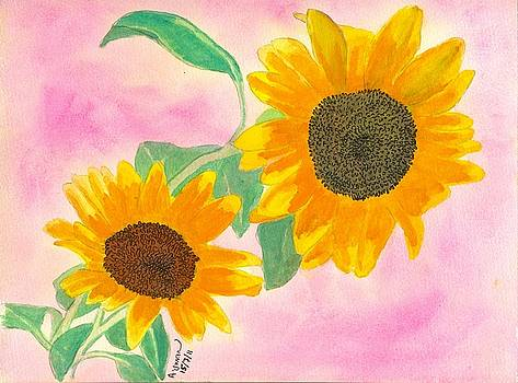Sunflowers by Ayman Youssif