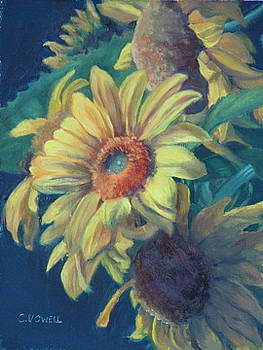Sunflowers by Cynthia Vowell