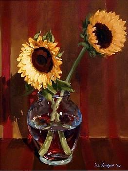 Sunflowers by David Johnson