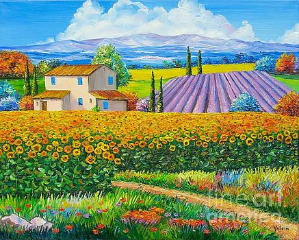 Sunflowers by Elena Yalcin