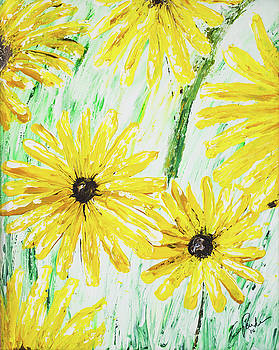 Sunflowers by Gaynell Parker
