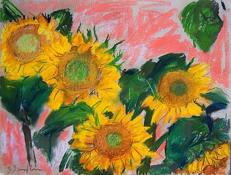 Sunflowers I by Zolita Sverdlove