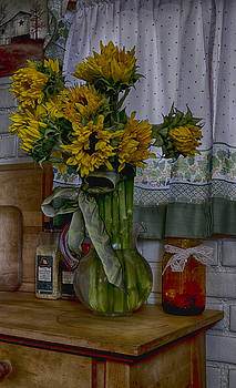 Sunflowers in the Kitchen by Christina Durity