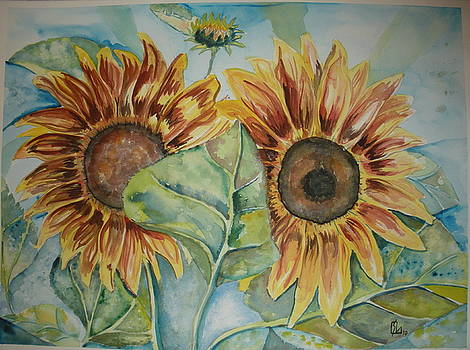 Sunflowers by Lee Stockwell