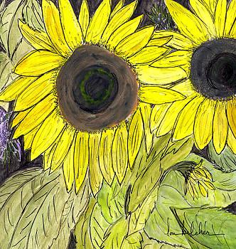 Lou Belcher - Sunflowers