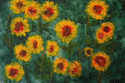 Sunflowers by Lynne Reichhart