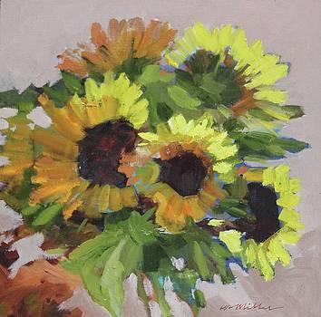 Sunflowers by Maralyn Miller