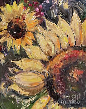 Sunflowers by Maria's Watercolor