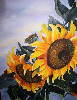 Sunflowers by Monica Chiasson