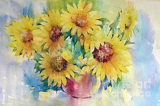 Sunflowers by Natalia Eremeyeva Duarte