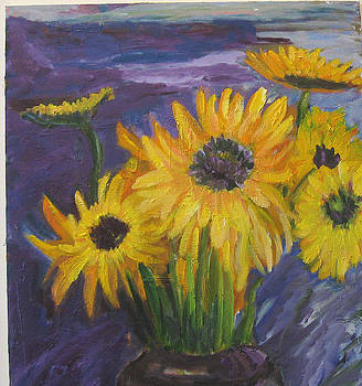 Sunflowers of My Mind by Carolyn Zaroff