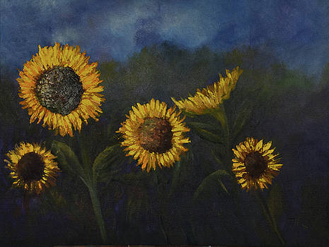 Sunflowers of Summer by Tim Ford