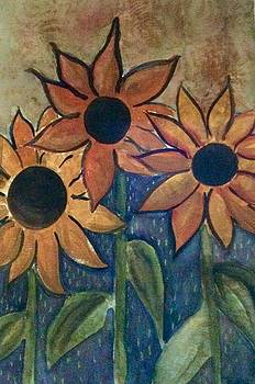 Sunflowers by Phyllis Hollenbeck