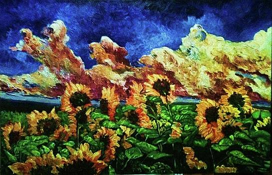 Sunflowers by Pierre Putica