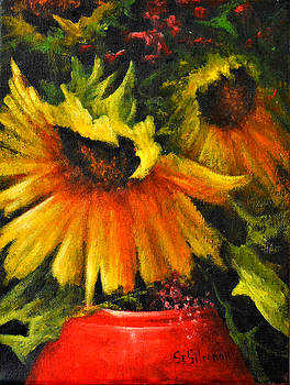 Sunflowers From Provence. by Ray Gilronan