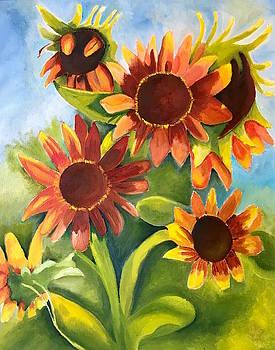 Sunflowers by Rebecca Jackson