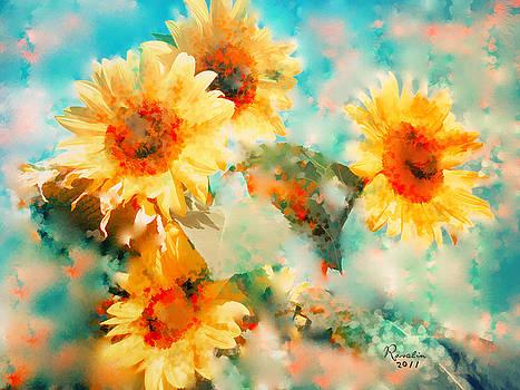 Rosalina Atanasova - sunflowers