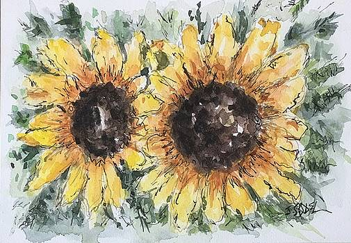 Sunflowers by Stephanie Sodel