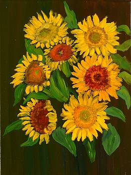 Sunflowers by Vicki Rees