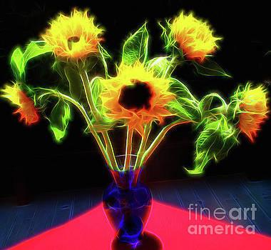 Sunflowers Vision by Jerome Stumphauzer