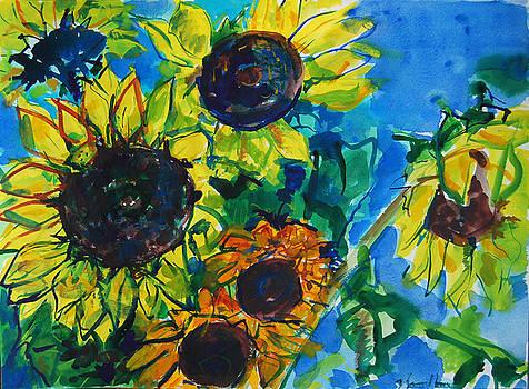 Sunflowers by Zolita Sverdlove