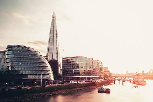 Sunkissed London skyline by Matt Perry
