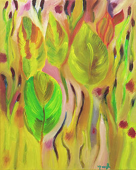 Sunkissed Leaves by Meryl Goudey