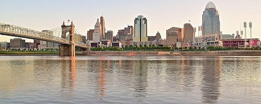 Sunrise in Cincinnati by Frozen in Time Fine Art Photography