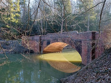 Sunlight Under Bridge by Brian Shepard