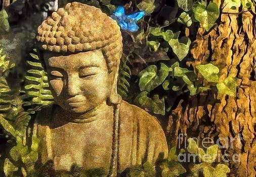 Kathryn Strick - Sunlit Buddha 2015
