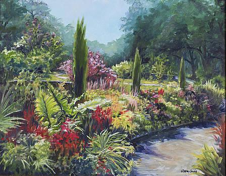 Sunlit Garden by Sharon Sorrels