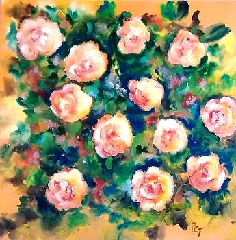 Patricia Taylor - Sunlit Summer Roses
