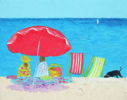 Jan Matson - Sunny afternoon at the beach