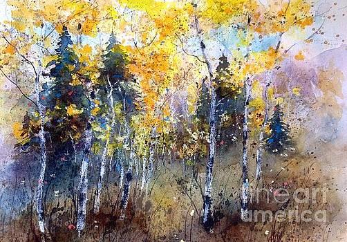 Sunny Autumn Day by Diane Splinter