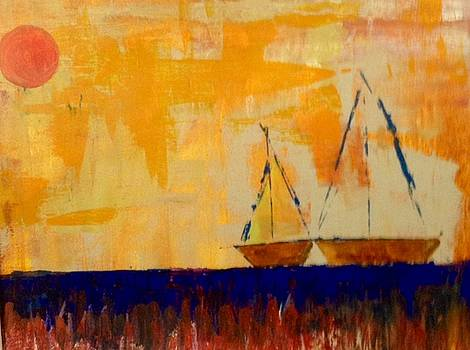 Sunny Day Sail by Phyllis Hollenbeck