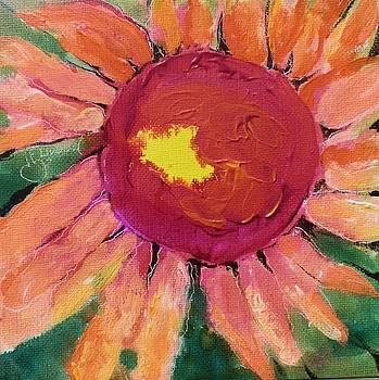 Sunny Flower by Jann Elwood