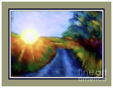 Sunny Side Iii by Shirley Moravec