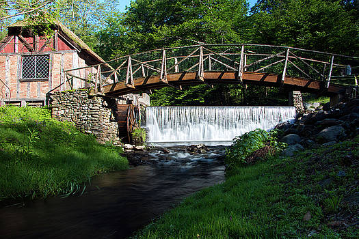 Sunny Spring Morning at Gomez Mill by Jeff Severson