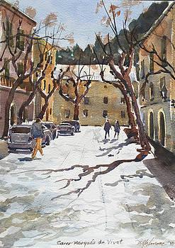 Sunny Street, Valledemossa by David Gilmore