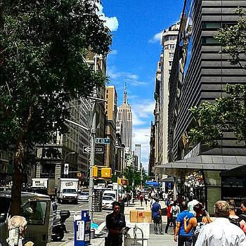 Sunny Summer's Day On 5th Avenue #nyc by Christopher M Moll