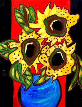 Nikki Dalton - Sunny Sunflowers 1