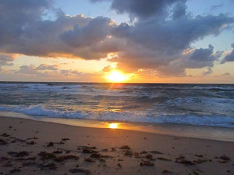 Sunny Waves by Zachary Baty