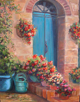 Sunny Welcome by Kathy Brusnighan