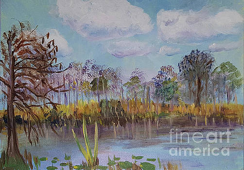 Donna Walsh - Sunny Winter Day at Loxahatchee