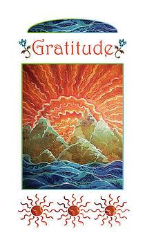 Sue Duda - Sunrays - Gratitude