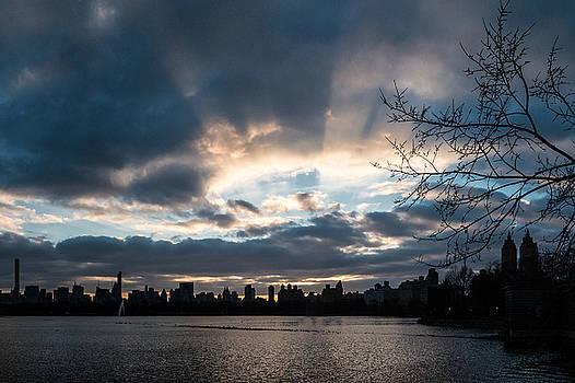 Sunrays Over Manhattan by Cornelis Verwaal